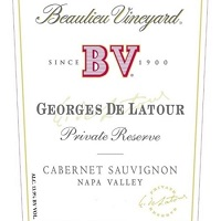 Hand-Picked Selection BV Georges De Latour Cabernet Sauvignon Label