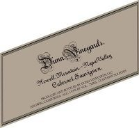 Hand-Picked Selection: Dunn Cabernet Sauvignon Label