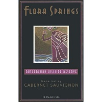 Hand-Picked Selection: Flora Springs Cabernet Sauvignon Label