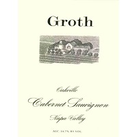 Hand-Picked Selection: Groth Cabernet Sauvignon Label