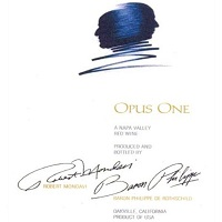 Hand-Picked Selection: Opus One Cabernet Sauvignon